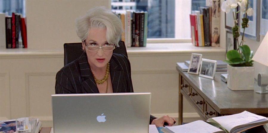 Business Managent e la vita in ufficio con Il Diavolo veste Prada film