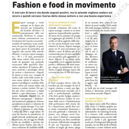LImpresa Armando Aliperti page 0001 440x440 - Fashion e Food in movimento - Impresa sole24 ore -